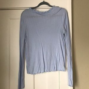 Anthropologie Mockneck Long sleeve